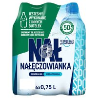 Nałęczowianka Naturalna woda mineralna niegazowana 6 x 0,75 l
