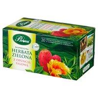 BiFIX Zielona z opuncją figową Herbata ekspresowa (20 tb.)