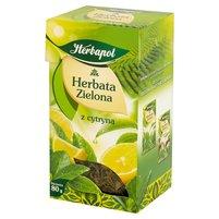HERBAPOL Herbata zielona z cytryną liściasta