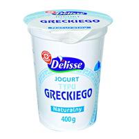 WIODĄCA MARKA Delisse Jogurt naturalny typu greckiego