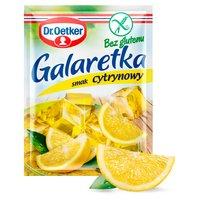 DR. OETKER Galaretka bez glutenu o smaku cytrynowym
