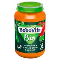 BOBOVITA Bio Wołowinka z pomidorem i cukinią po 6 m-cu