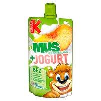 KUBUŚ Mus + Jogurt jabłko brzoskwinia banan