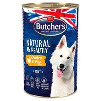 BUTCHER'S Natural & Healthy Karma dla dorosłych psów pasztet z kurczakiem i ryżem