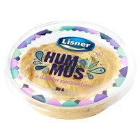 LISNER Hummus z dzikim czosnkiem