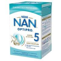 NAN OPTIPRO 5 Mleko modyfikowane dla dzieci po 2,5 roku (2 x 400 g)
