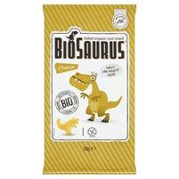 BioSaurus Ekologiczne pieczone chrupki kukurydziane o smaku serowym