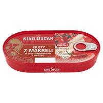 KING OSCAR Filety z makreli w sosoe pomidorowym z papryką