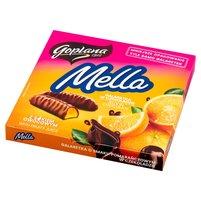 GOPLANA Mella Galaretka w czekoladzie o smaku pomarańczowym