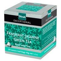 DILMAH Exceptional Zielona herbata z kwiatami jaśminu (20 tb.)