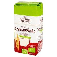 POLSKIE MŁYNY Mąka Szymanowska ekologiczna pszenna typ 480