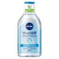 NIVEA MicellAir Skin Breathe Odświeżający płyn micelarny do cery normalnej i mieszanej