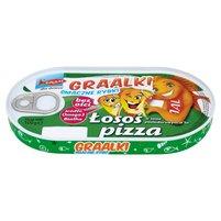 GRAAL Graalki Smaczne rybki Łosoś w sosie pomidorowym a'la pizza