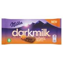 MILKA Darkmilk Czekolada mleczna Salted Caramel