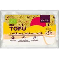 POLSOJA BIO Tofu z kurkumą chili i imbirem