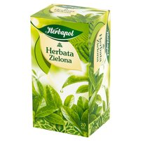 HERBAPOL Herbata zielona (20 tb.)