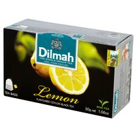DILMAH Lemon Czarna herbata z aromatem cytryny (20 tb.)