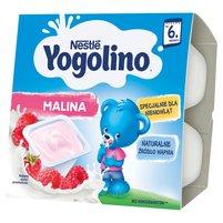 NESTLE Yogolino Deserek mleczno-owocowy malina po 6. m-cu (4 szt.)
