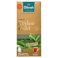 DILMAH Ceylon Gold Herbata czarna klasyczna (25 tb.)