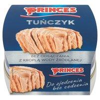 PRINCES Tuńczyk bez odsączania z kroplą wody źródlanej