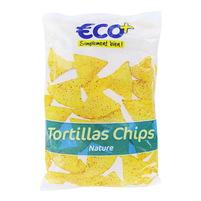 ECO+ Tortilla Trójkątne chipsy kukurydziane solone