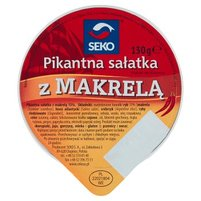 Seko Pikantna sałatka z makrelą 130 g