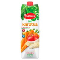 FORTUNA Karotka Sok marchew banan jabłko + witaminy A C E