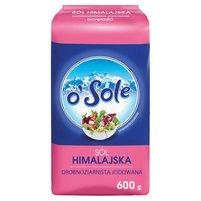 O'SOLE Sól himalajska drobnoziarnista jodowana