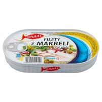 GRAAL Filety z makreli w oleju