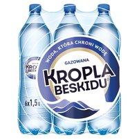 KROPLA BESKIDU Naturalna woda mineralna gazowana (6 x 1,5L)