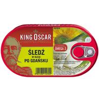 KING OSCAR Śledź w oleju po gdańsku