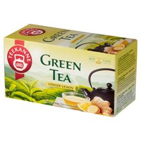 TEEKANNE Green Tea Ginger Lemon Aromatyzowana herbata zielona (20 tb.)
