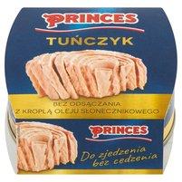 PRINCES Tuńczyk bez odsączania z kroplą oleju słonecznikowego