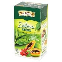 BIG-ACTIVE Zielona herbata papaja i jagody goji (20 tb.)