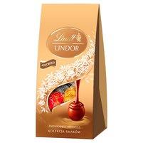 Lindt Lindor Kolekcja smaków Pralinki czekoladowe z nadzieniem