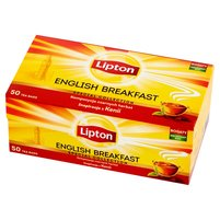 LIPTON English Breakfast Herbata czarna (50 tb.)