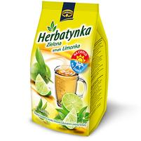 KRUGER Herbatynka zielona smak limonka Napój herbaciany instant