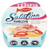 Graal Salatino tuńczyk z kuskusem perłowym i suszonymi pomidorami