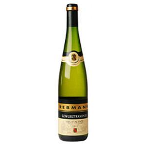 REBMANN Gewurztraminer Vin D'Alsace Wino białe półwytrawne Francja (1)