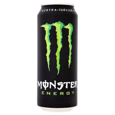 MONSTER Energy Gazowany napój energetyzujący (1)