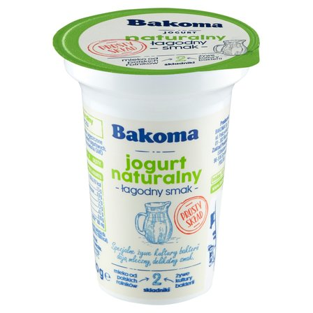 BAKOMA Jogurt naturalny łagodny smak (1)