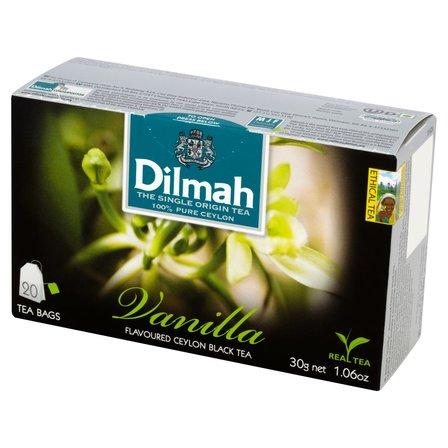DILMAH Czarna herbata z aromatem wanilii (20 tb.) (1)