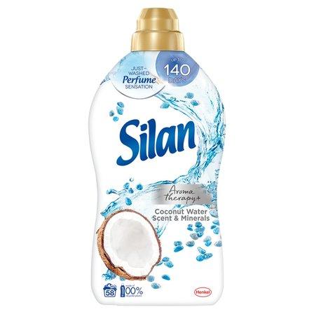 SILAN Aromatherapy+ Coconut Water Scent & Minerals Płyn do zmiękczania tkanin (58 prań) (1)