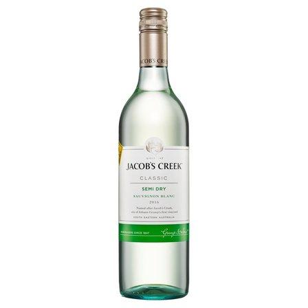 JACOB'S CREEK Sauvignon Blanc Wino białe półwytrawne australijskie (1)