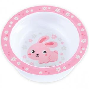 """CANPOL BABIES Miseczka melaminowa z przyssawką """"Bunny&Company"""" 270ml (3)"""