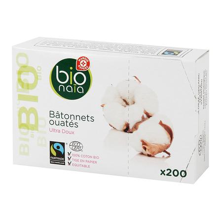 WIODĄCA MARKA Bio Naia Ekologiczne patyczki higieniczne (1)
