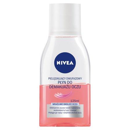 NIVEA Pielęgnujący dwufazowy Płyn do demakijażu oczu (1)