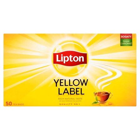 LIPTON Yellow Label Herbata (50 tb.) (2)