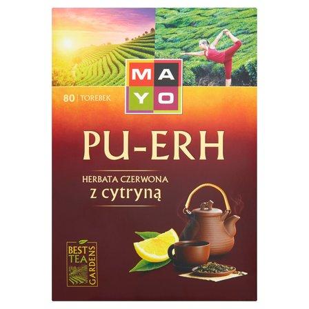 MAYO Pu-Erh Herbata czerwona z cytryną (80 tb.) (2)