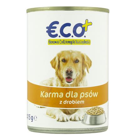 €.C.O.+  Karma dla psów z drobiem 415g (1)